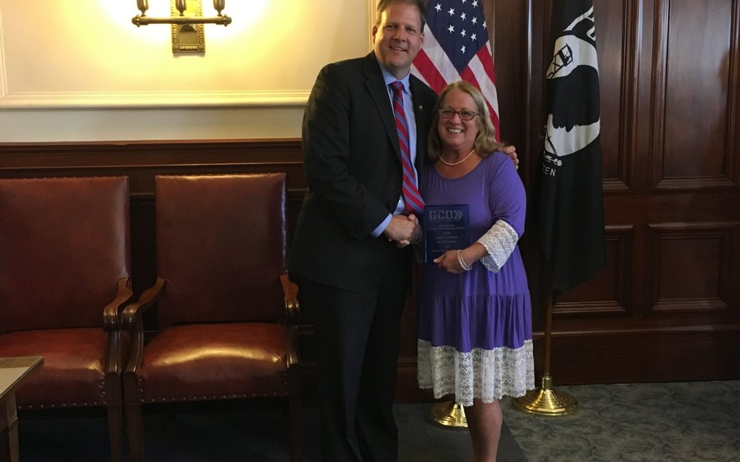 Expired: Karen Johnson Receives Governor's Accessibility Award